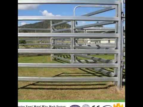 Australia standard cattle panel from China--sales2@china-metal-fence.com
