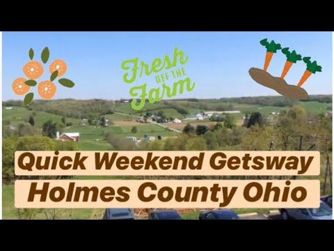 ☀️Quick Weekend Getaway | Holmes County Ohio🇺🇸
