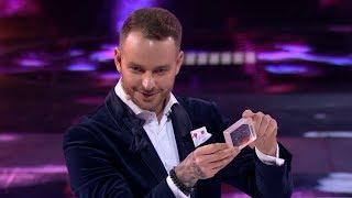 Zamienił zwykłą kartę do gry na złotą rybkę! Agnieszka znalazła ją w dłoni! [Mam Talent]