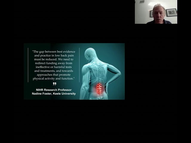 Dr. Liebenson Zoom Lectures - Anglo European Chiropractic College