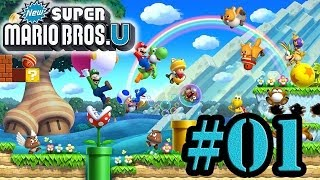 Let's Play : New Super Mario Bros U - Parte 1