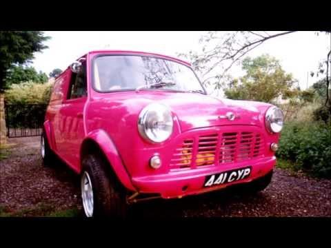 How To Restore a Classic Mini Van - Porcshe Karminrot Pink -1430cc