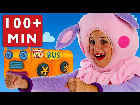 Learn Colors with Wheels on the Bus and More | Songs for Kids | Children Songs | Mother Goose Club