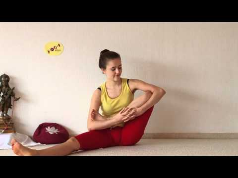 Developing Lotus Flexibility Preparing Yoga Padmasana Sitting Position