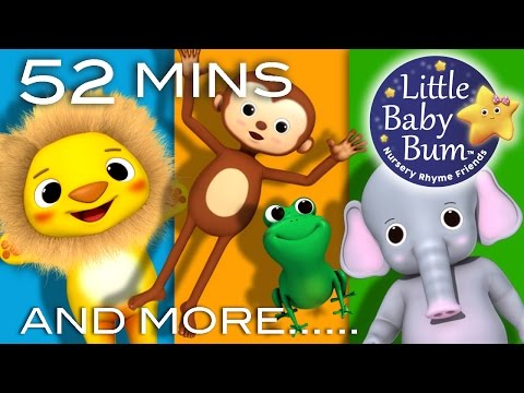 Animal Songs | Part 2 | Plus Lots More Nursery Rhymes | 54 Minutes Compilation from LittleBabyBum!