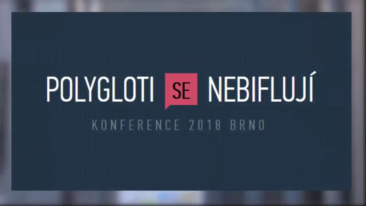 3472e3f10e Polygloti Se Nebiflují - konference 2019 Brno