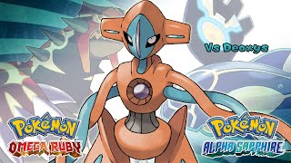 Pokemon Omega Ruby/Alpha Sapphire - Battle! Deoxys Music (HQ)