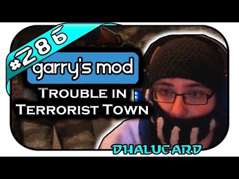 TROUBLE IN TERRORIST TOWN #286 - HALLO?! - Let's Play TTT - Dhalucard