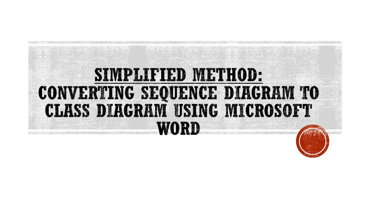 SIMPLIFIED SOLUTIONS: Converting Sequence Diagram to Class ...