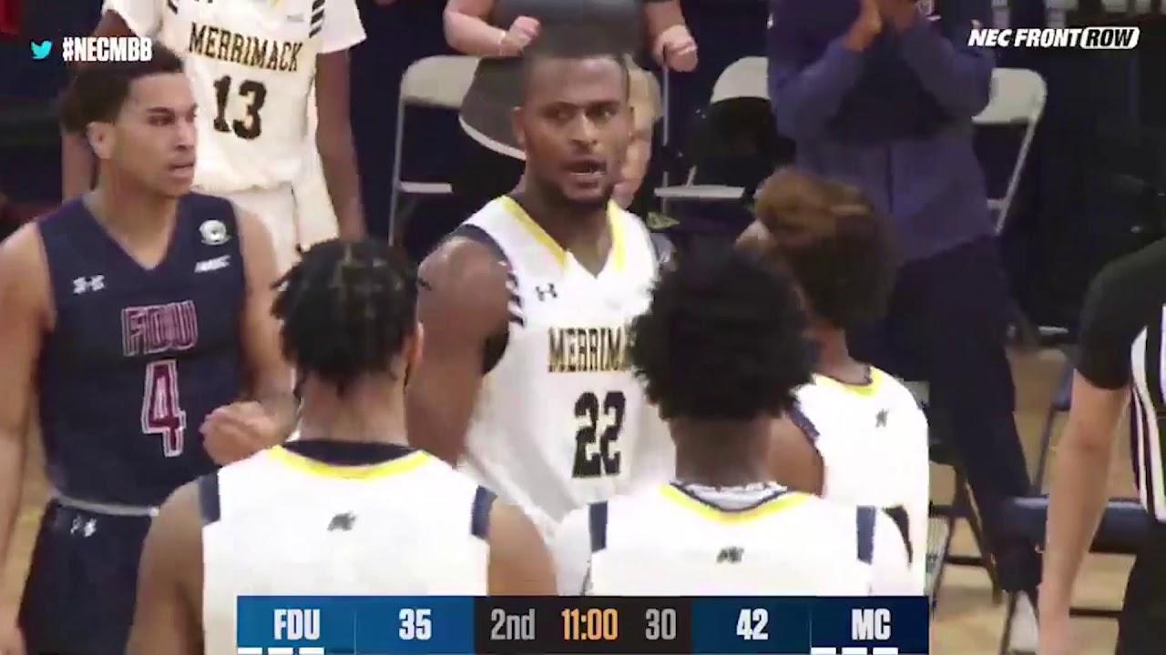 MBB: Merrimack Men's Basketball Highlights vs Fairleigh Dickinson •Jan 21, 2021