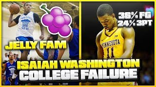What Went WRONG With ISAIAH WASHINGTON'S Freshman Year At Minnesota? | Will JELLY FAM Make The NBA?