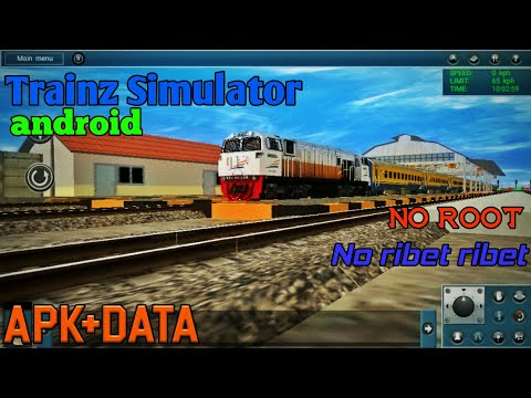 TRAINZ SIMULATOR Android Apk+data||TUTORIAL PASANG||TRAINZ ANDROID