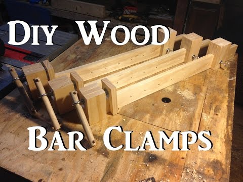 Diy Wooden Bar Clamps