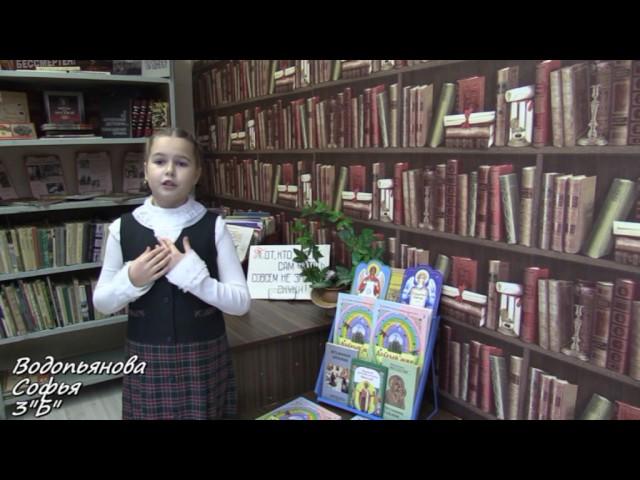 Изображение предпросмотра прочтения – СоняВодопьянова читает произведение «Калеки в библиотеке» С.В.Михалкова