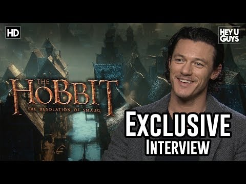 Luke Evans - The Hobbit: The Desolation of Smaug Exclusive Interview