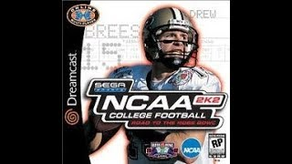 DREAMCAST NTSC GAMES: NCAA College Football 2k2