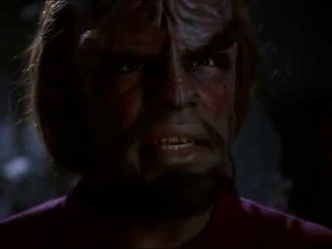 "Star Trek DS9 ""By Inferno's Light"" Worf fights Jem'Hadar"