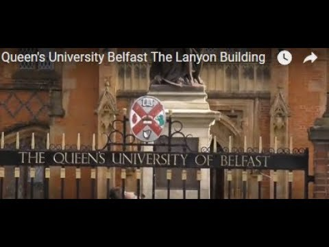 Queen's University Belfast Charles Lanyon Building Tour