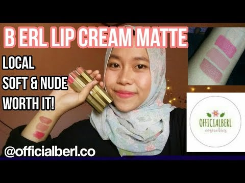 b-erl-lip-cream-matte-review-&-swatches-|-lipmatte-lokal-super-long-lasting-by-khairunnisa-adlina