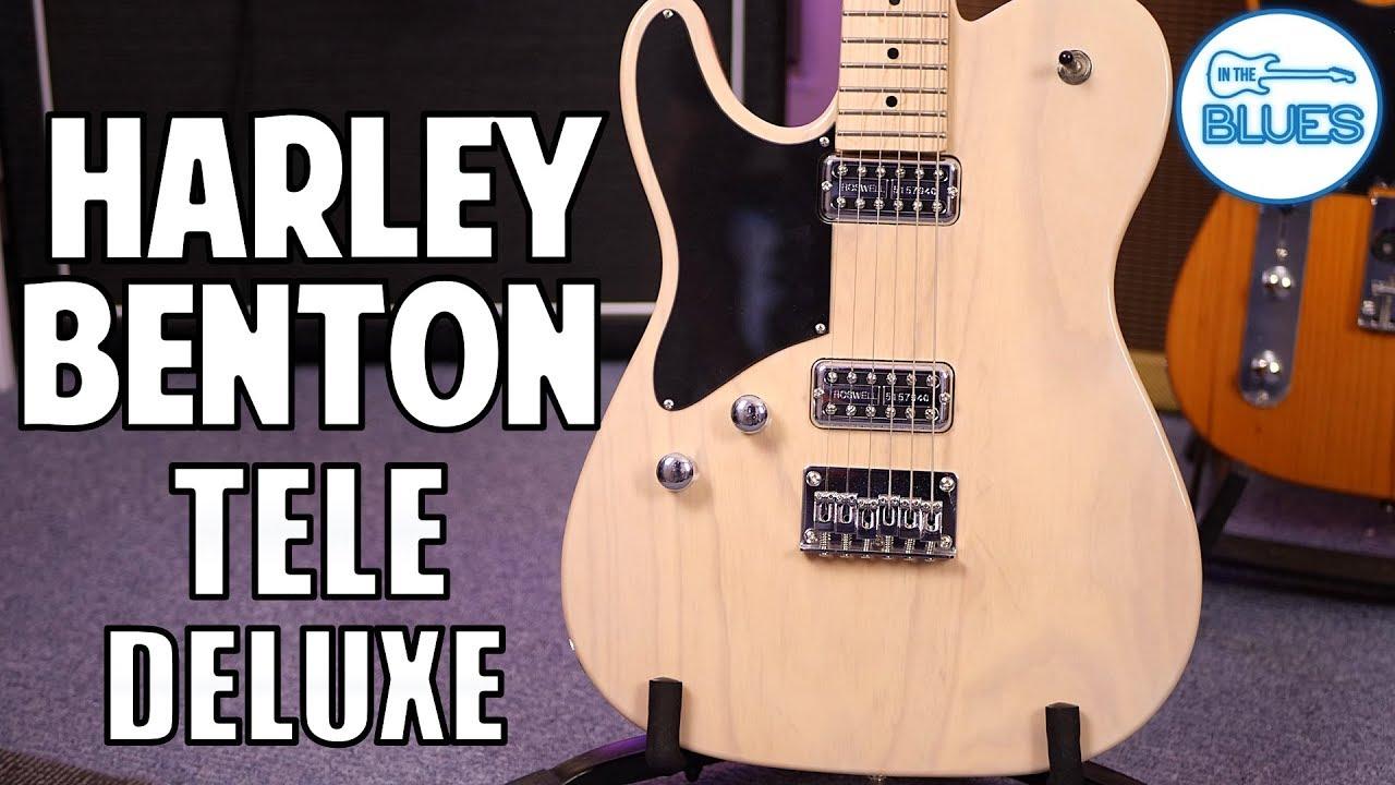 Harley Benton TE-90FLT VW Deluxe Series Review