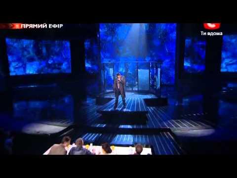 Х-фактор-2 Украина. Олег Кензов. 4 прямой эфир. 12.11.2011