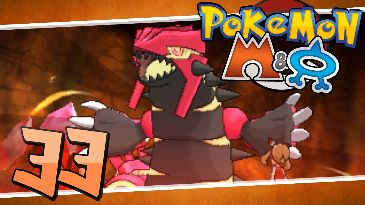 Pok 233 Mon Omega Ruby Episode 33 Primal Groudon