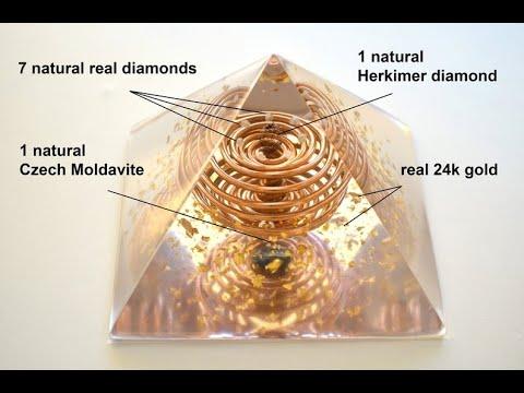 How To Make Orgonite Pyramids 101 (Dollar Tree Style)