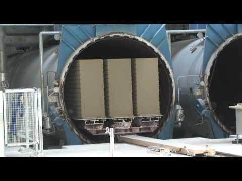 Видеообзор с производства автоклавного газобетона наоборудовании «Masa Henke»