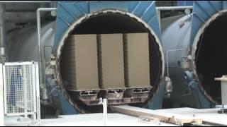 видео Производство ячеистого бетона