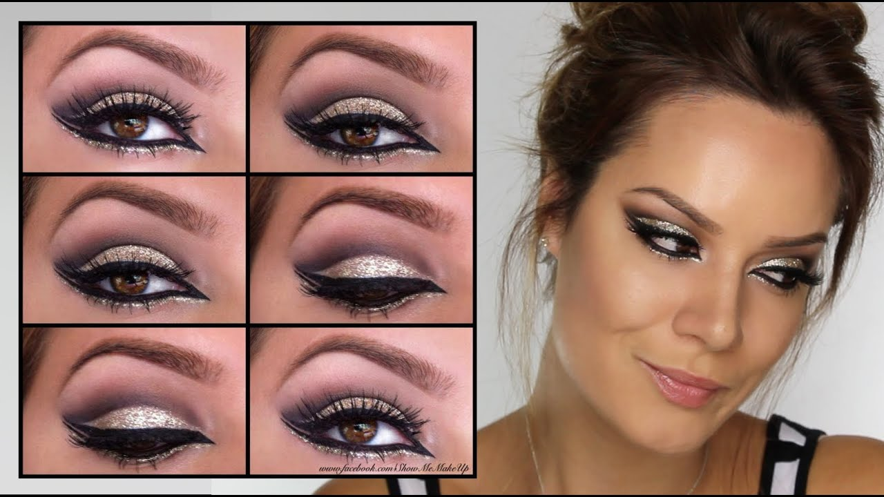 Arabian Gold Goddess Eye Makeup Tutorial Shonagh Scott Showme