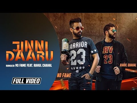 Jinni Daaru || No Fame Feat. Rahul Chahal || New Punjabi Song 2018 || Angel Records ||