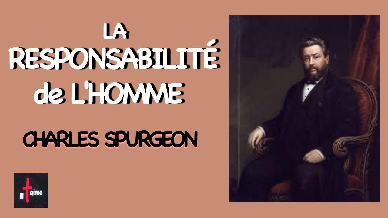 LA RESPONSABILITÉ DE L'HOMME