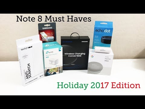 Galaxy Note 8 Must Have Accessories (Links in Description!)