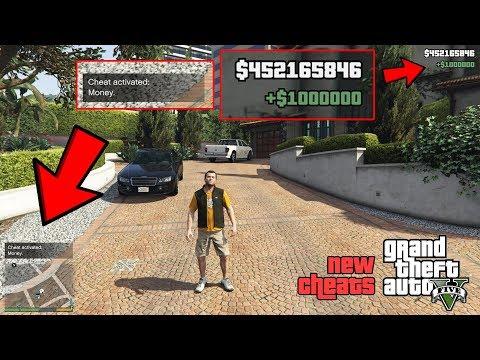 GTA 5 - All New Cheats 2020! (Money, Flamethrower, Big Waves)