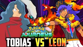 Tobias VS Leon   Tobias Team Revealed   Leon Best Team   Tobias Best Team   Tobias All 6 Pokemon
