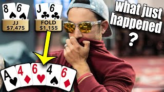 THERE ARE NO WORDS to describe these poker hands ♠ Live at the Bike!