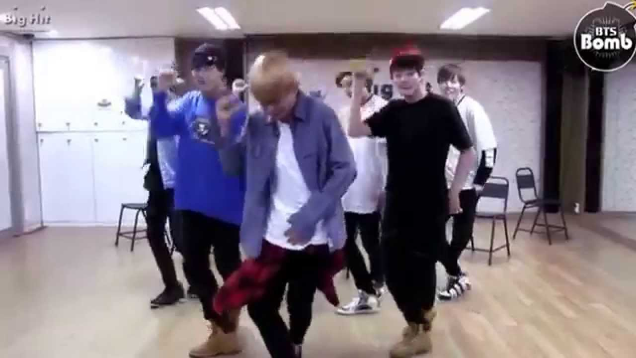 Bts Just One Day Dance Practise V Taehyung