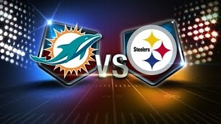 2017 NFL Pittsburgh Steelers Vs. Miami Dolphins Playoff Predictions & Preview | The Sports Box