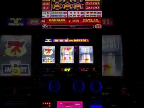 "Silver Legacy Jackpot  Dollar Machine  ""I WON""!! $$  Caught on Video"