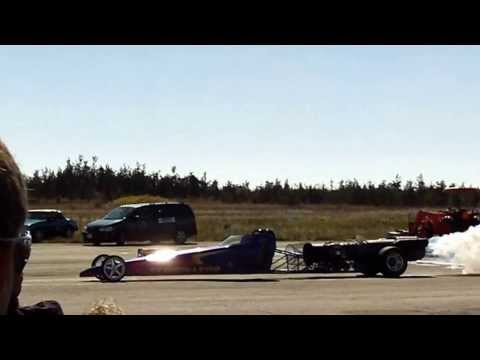 Picton Armdrop Drag Races-Jet Dragster