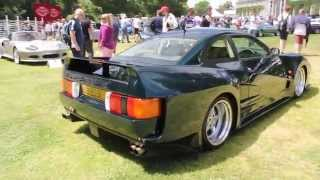 Extremely rare British supercar Lister Storm roadcar walkaround [Goodwood Festival of Speed 2014]