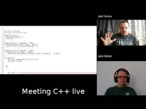 Meeting C++ live: Code generation with Joel Falcou
