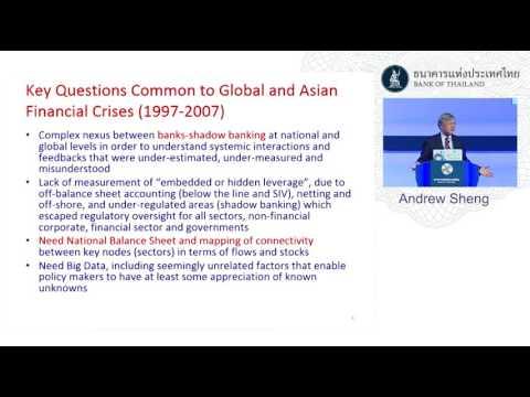 """ปาฐกถาพิเศษ """"Global New Economy Needs New Data"""" โดย Andrew Sheng"""