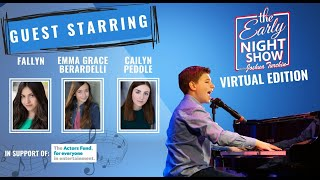 S5 Ep5 Emma Grace Berardelli, singer/songwriter Fallyn, Cailyn Peddle, Joshua sings Dust and Ashes!