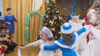 Танец для Снежной королевы утренник в детском саду 30 Гармония г. Бендеры
