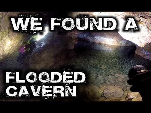 Exploring Ancient Mine with Flooded Caverns