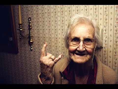 Una Anciana con ganas