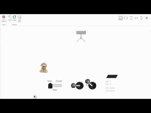 StoryLine 3: Joystick Claw Machine Demo