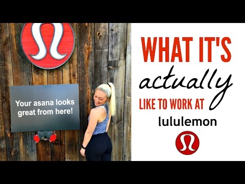 WORKING AT LULULEMON: My Experience