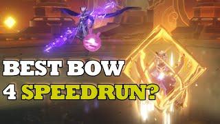FISCHL DPS SPEEDRUN versus childe! 5 Different bows ALL RANK 1! 1 MINUTE RUN!